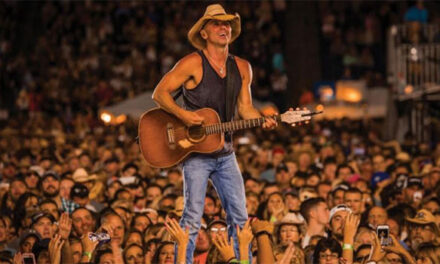 Kenny Chesney's 'Get Along' tops two million streams