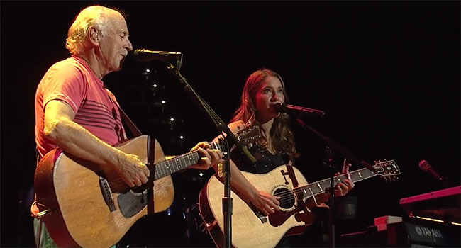 Jimmy Buffett & Caroline Jones