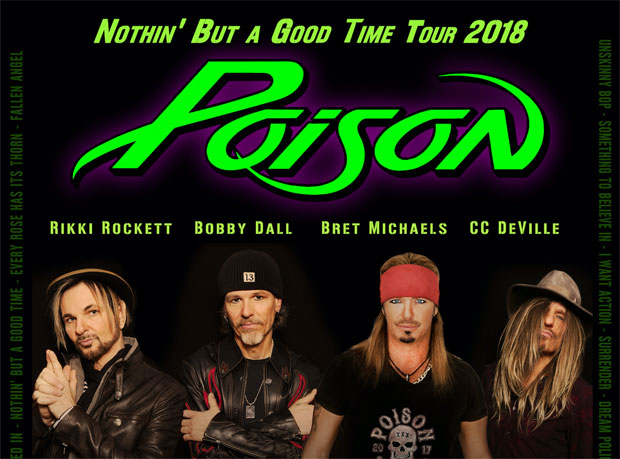 Poison And Cheap Trick Announce North American Tour