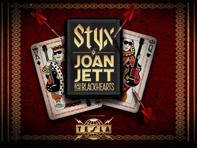 Styx, Joan Jett & The Blackhearts & Tesla 2018 Summer Tour