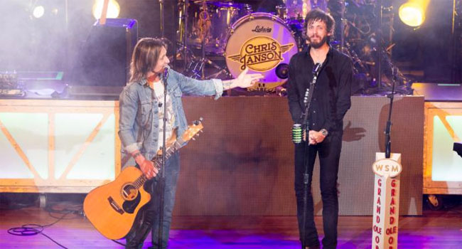 Keith Urban surprises Chris Janson