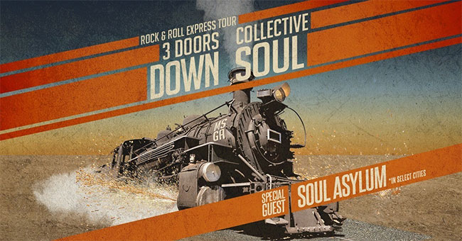 3 Doors Down & Collective Soul Tour