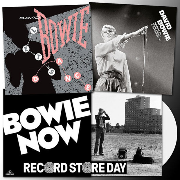 Three David Bowie releases announced for Record Store Day 2018