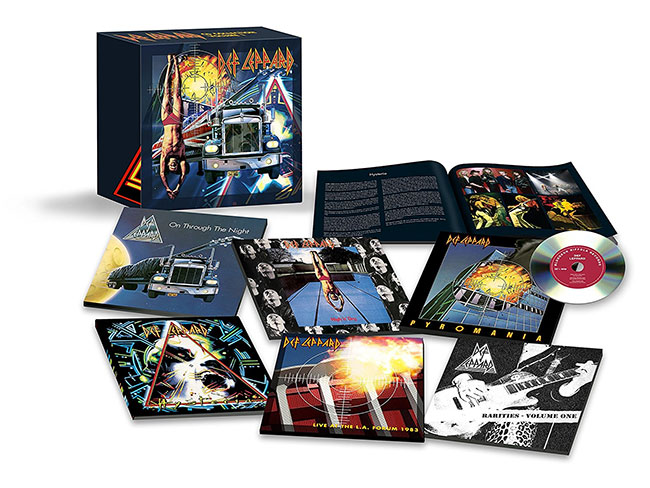 Def Leppard Announces First Of Four Career Spanning Box