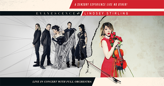 Evanescence Tour Support