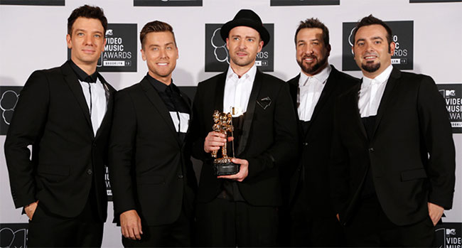 NSYNC To Receive A Star On The Hollywood Walk Of Fame