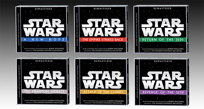 First six 'Star Wars' soundtracks getting remastered