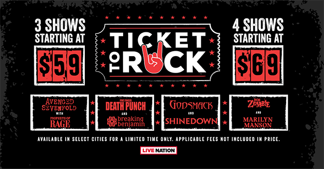 Ticket to Rock 2018