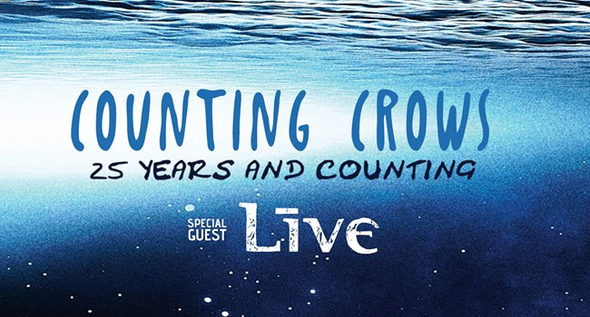 Counting Crows & Live