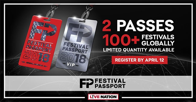 Live Nation expands Festival Passport for 2018