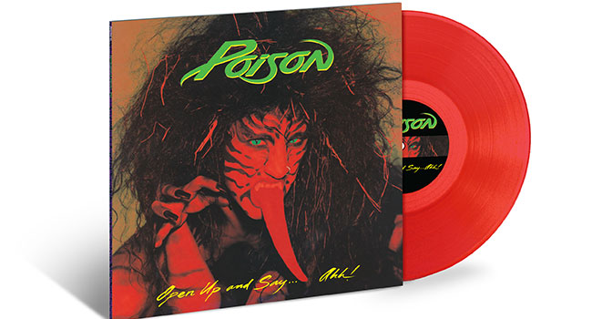 Poison - Open Up And Say... Ahh Red Vinyl