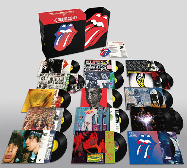 The Rolling Stones - The Studio Albums Vinyl Collection 1971-2016