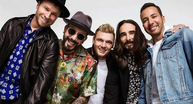 Backstreet Boys are back with new single 'Don't Go Breaking My Heart'