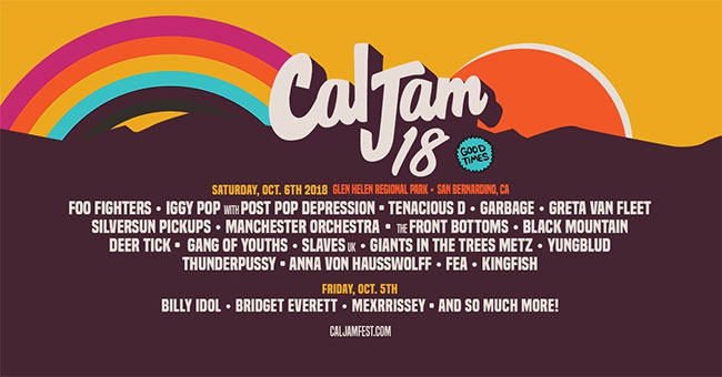 Foo Fighters Announce The Return Of Their CalJam Festival With Massive Lineup
