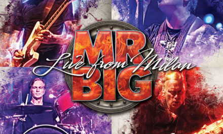 Mr Big announces 'Live From Milan'