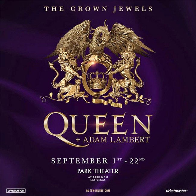 Queen + Adam Lambert - The Crown Jewels