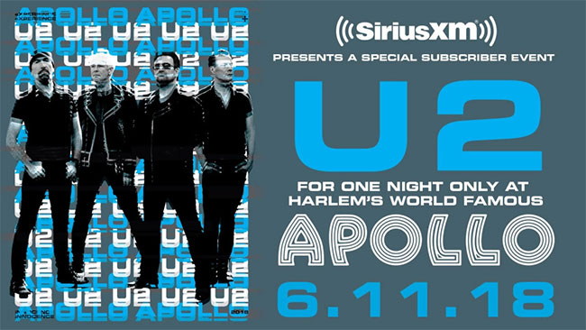 U2 Live at the Apollo