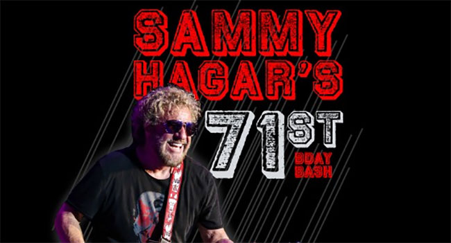 Sammy Hagar 71st Birthday Bash