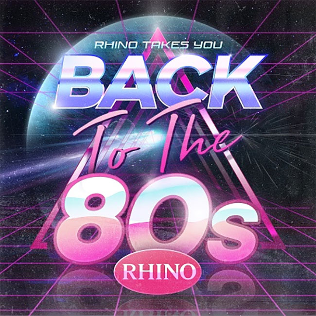 Rhino's Back To The 80's Campaign
