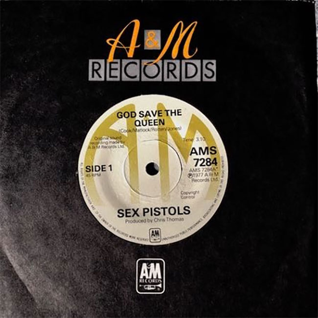 Sex Pistols - God Save The Queen 7""