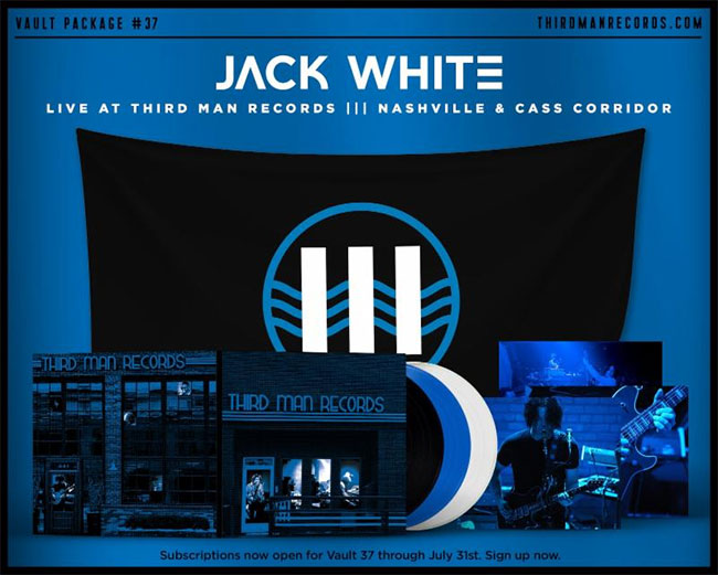Jack White Live in Nashville/Live in Detroit Home and Away