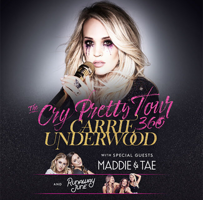 Carrie Underwood announces all female Cry Pretty Tour 360
