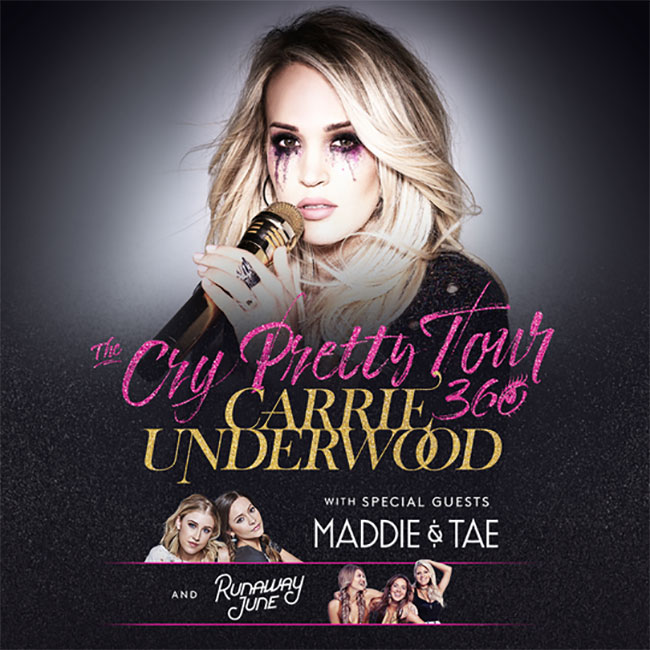 Carrie Underwood - The Cry Pretty Tour 360