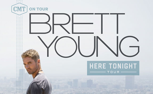 Brett Young CMT On Tour: Here Tonight