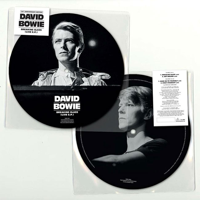 David Bowie - Breaking Glass EP (40th Anniversary Picture Disc)