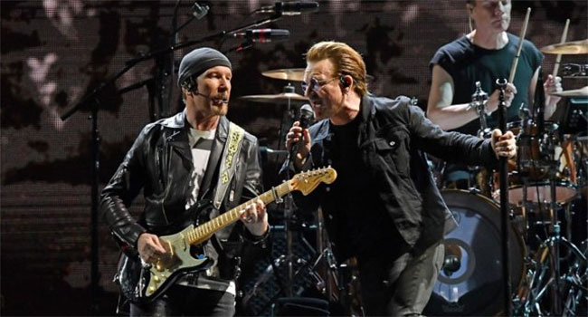 U2 relaunching YouTube channel with more than 100 remastered videos