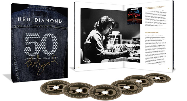 Neil Diamond - 50th Anniversary Collector's Edition
