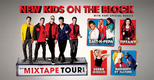 New Kids on the Block with Salt-N-Pepa, Tiffany, Debbie Gibson and Naughty by Nature