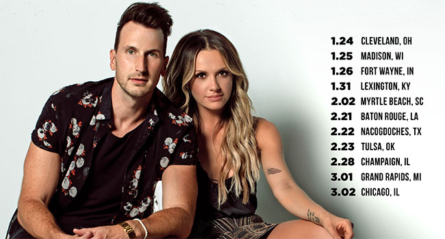 Russell Dickerson & Carly Pearce