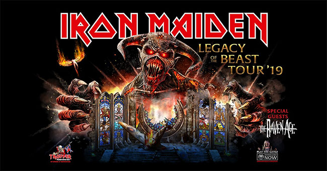 Iron Maiden - Legacy of the Beast 2019