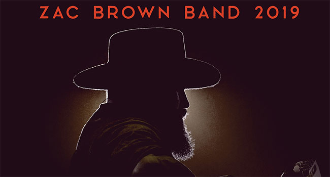 Zac Brown Band - Down The Rabbit Hole Tour 2019