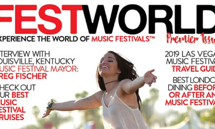 World's first music festival magazine launching in March 2019