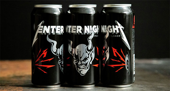 Metallica - Enter Night Pilsner