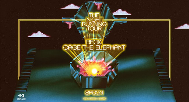 Beck & Cage The Elephant - The Night Running Tour