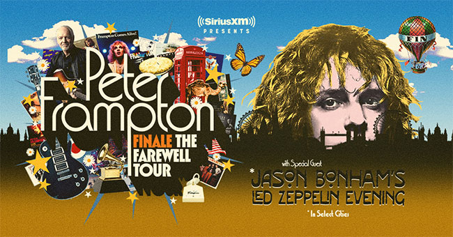 Peter Frampton Finale — The Farewell Tour Presented By SiriusXM