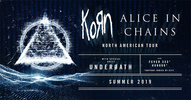Korn & Alice in Chains 2019 Summer Tour