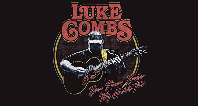 Luke Combs - Beer Never Broke My Heart Tour