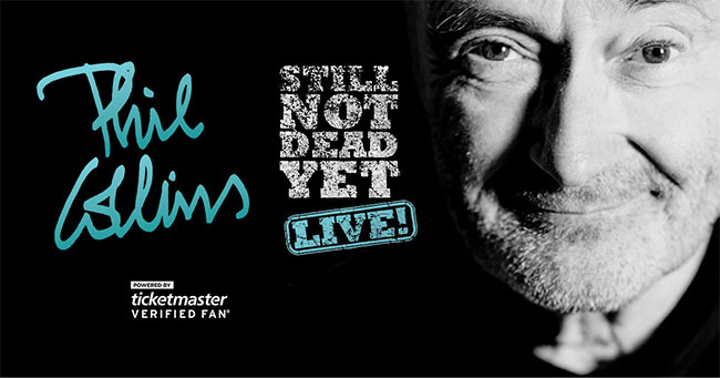 Phil Collins Still Not Dead Yet, Live!
