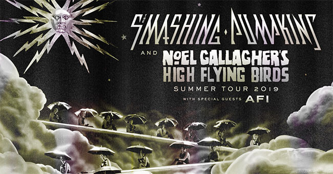 The Smashing Pumpkins And Noel Gallagher's High Flying Birds Announce North American Summer Tour