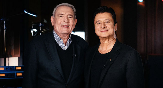 Dan Rather & Steve Perry