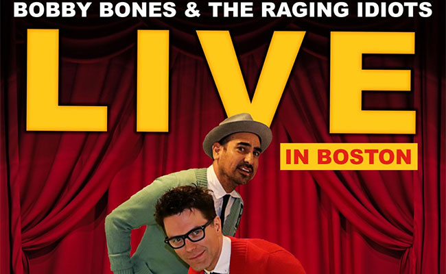 Bobby Bones & The Raging Idiots - Live in Boston EP