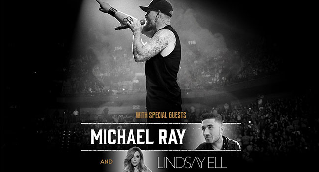 Brantley Gilbert, Michael Ray & Lindsay Ell - Not Like Us Tour