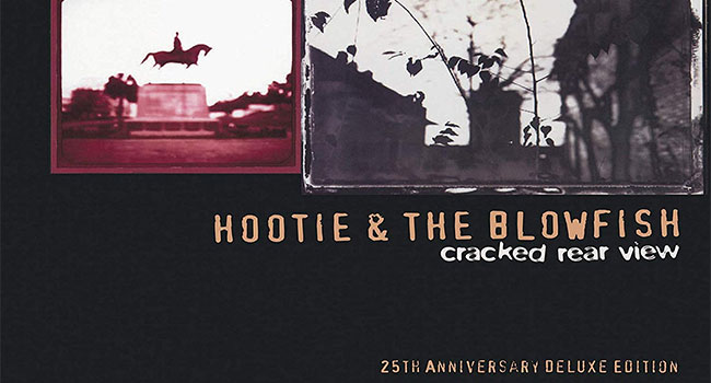 Hootie The Blowfish Detail Cracked Rear View 25th