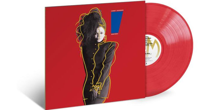 Janet Jackson - Control Translucent Red LP