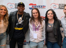 Carly Pearce, Jimmie Allen, Buddy Iahn, Ashley McBryde, Carlton Anderson