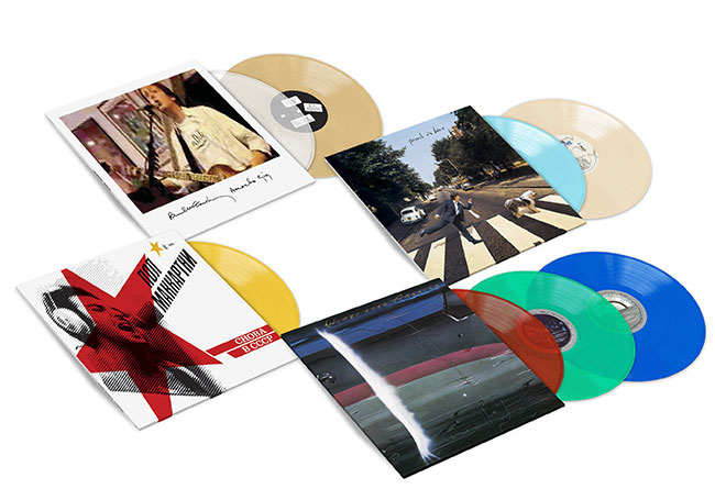 Paul McCartney Live Albums Colored Vinyl Bundle